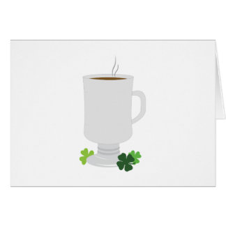 Irish Coffee Card