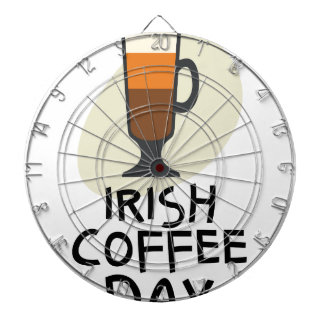 Irish Coffee Day - Appreciation Day Dartboard