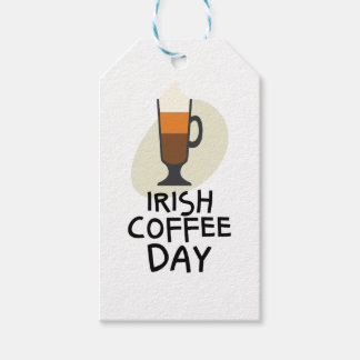 Irish Coffee Day - Appreciation Day Gift Tags