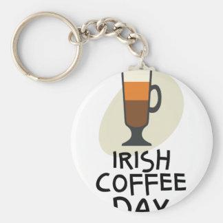 Irish Coffee Day - Appreciation Day Keychain