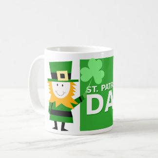 Irish Coffee Mug with  Leprechaun Design