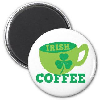 Irish Coffee Refrigerator Magnet
