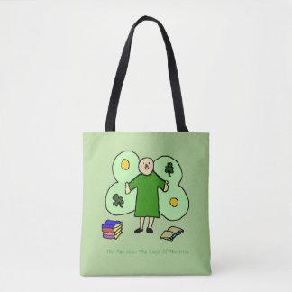 Irish Confuzzled Fae Custom Tote Bag