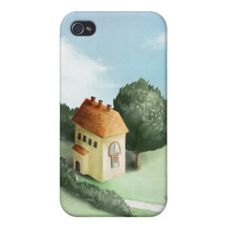 Irish Cottage Cover For iPhone 4