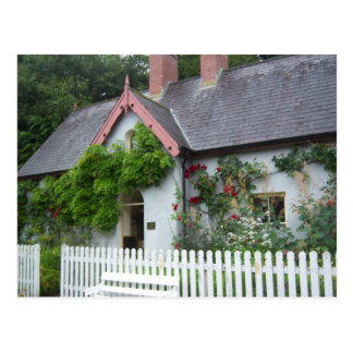 Irish Cottage Postcard