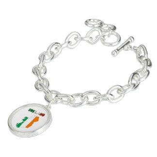 Irish country flag bracelet