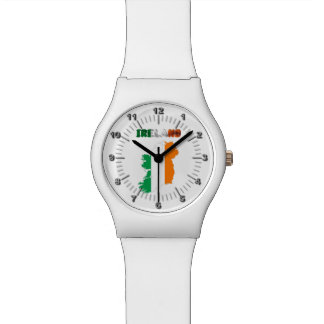 Irish country flag watch
