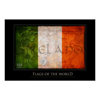 Irish country poster