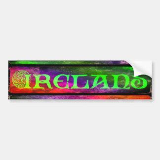 Irish country Sticker, sticker, rainbow, Bumper Sticker