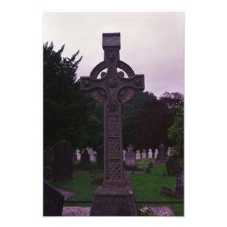 Irish Cross Headstone: Photo