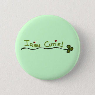 Irish Cutie Tshirts and Gifts 2 Inch Round Button