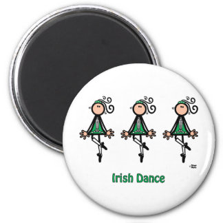 Irish Dance 2 Inch Round Magnet