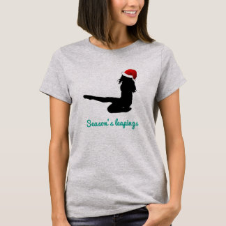Irish Dance Christmas Ladies Shirt – Leaping