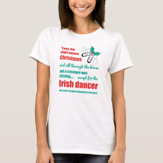 Irish Dance Christmas Ladies Shirt - Tapping Toes
