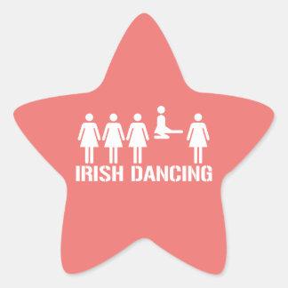 Irish dance star stickers