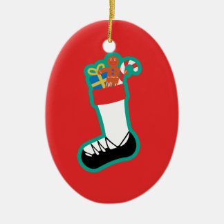 Irish Dance Stocking Christmas Ornament
