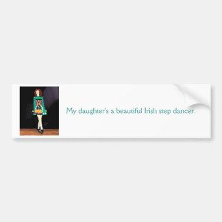 Irish Dancer bumper sticker