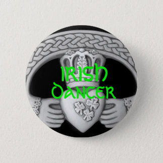 IRISH DANCER Button / Pin - FEIS