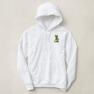 Irish  Dancer Embroidered Hooded Sweatshirt