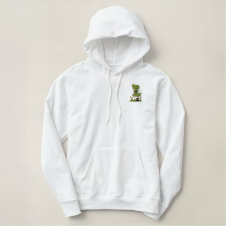 Irish  Dancer Embroidered Hoodie