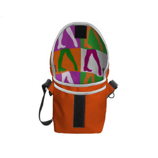 Irish Dancers Messenger Bag