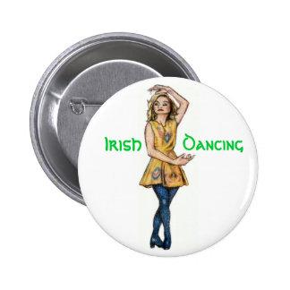 Irish Dancing Button