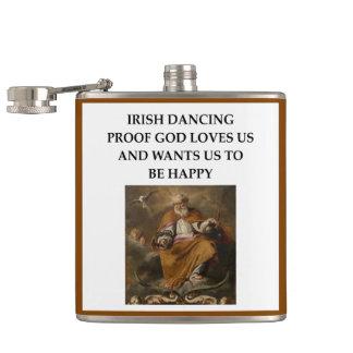 irish dancing flasks