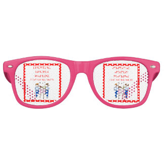 irish dancing retro sunglasses