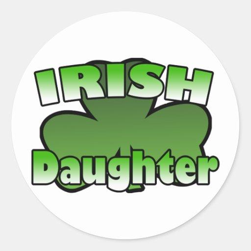 Irish daughter Sticker