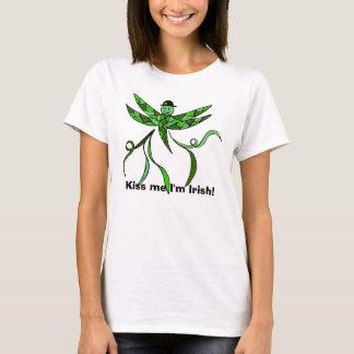 Irish Dragonfly, Kiss me I'm Irish! tank top