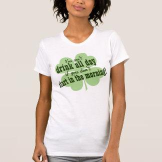 Irish Drinking Humor Quote Tshirt