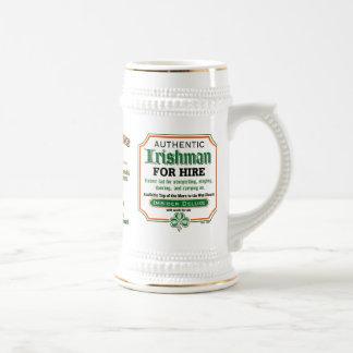 Irish Drinking Mug