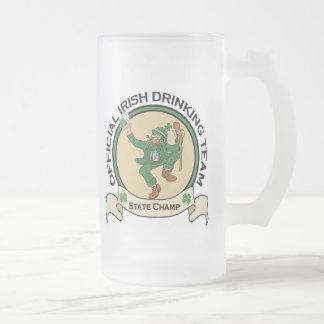 Irish Drinking Team beer mug