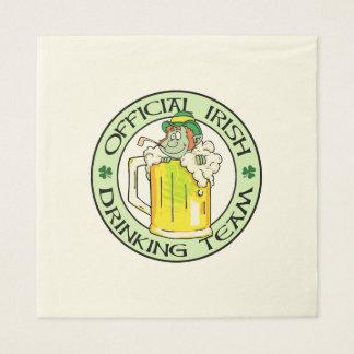 Irish Drinking Team Disposable Napkins