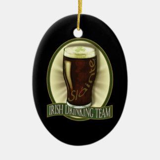 Irish Drinking Team Personalized Ornament
