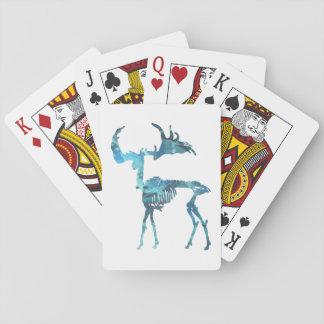 Irish Elk Skeleton Playing Cards