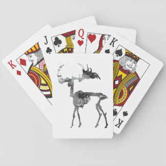 Irish Elk Skeleton Playing Cards