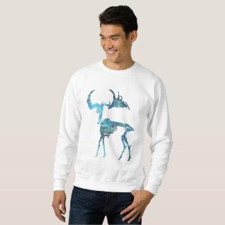 Irish Elk Skeleton Sweatshirt