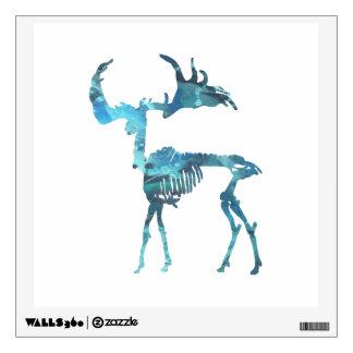 Irish Elk Skeleton Wall Sticker