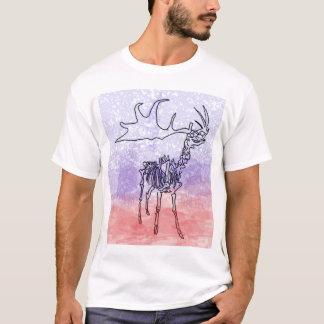 Irish elk watercolour T-Shirt
