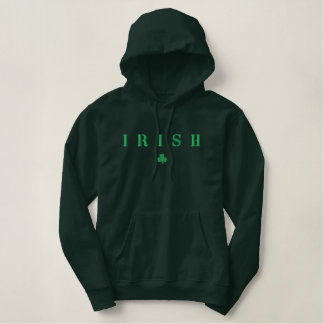 Irish Embroidered Hoodie