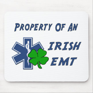 Irish EMT Property Mouse Pad