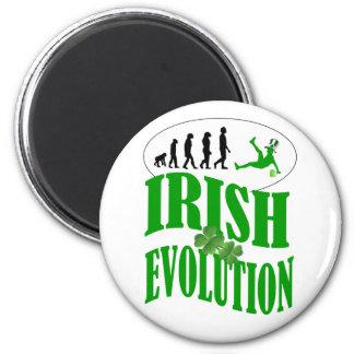 Irish evolution magnet