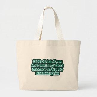 Irish Eyes Quote Bag