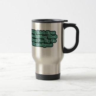 Irish Eyes Quote Mugs