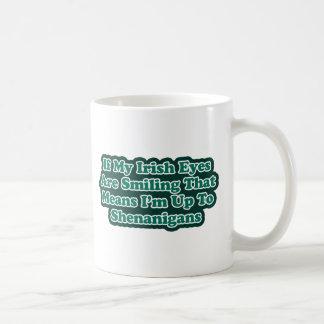 Irish Eyes Quote Mug