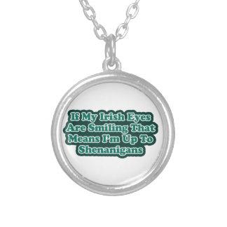 Irish Eyes Quote Necklaces