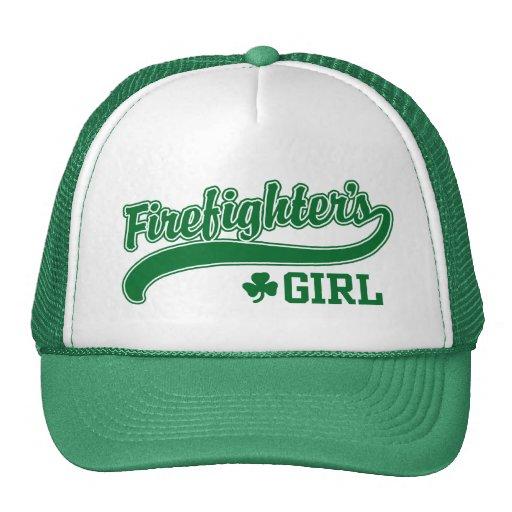 Irish Firefighter's Girl Mesh Hats