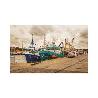 """Irish fishing boats"" wall art/canvas prints"
