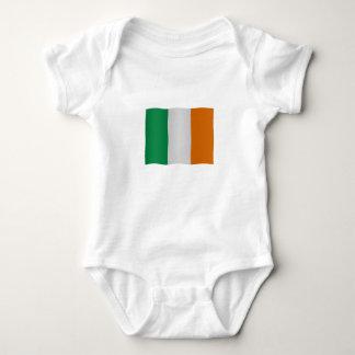 Irish flag baby bodysuit